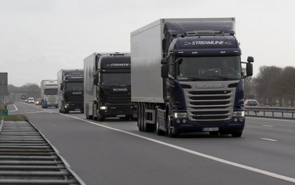 Zelfrijdende vrachtwagens