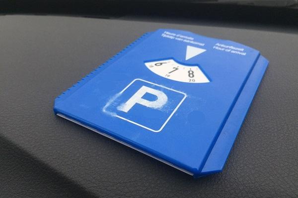 Hoe correct je parkeerschijf te gebruiken